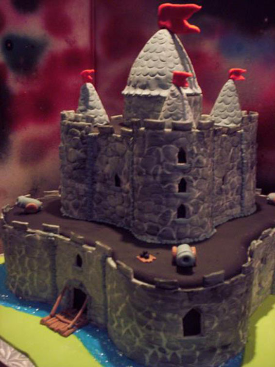 Castle Wedding Cake Hey Cupcake