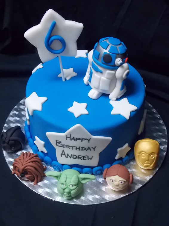 Star Wars themed custom cake